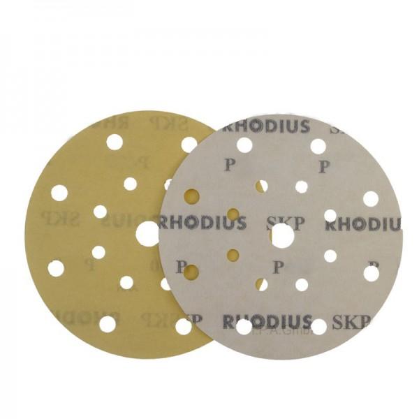 RHODIUS, Schleifscheiben Ø150mm, 17-Loch, P80 bis P800, Klett, Aluminiumoxid SKP17 V