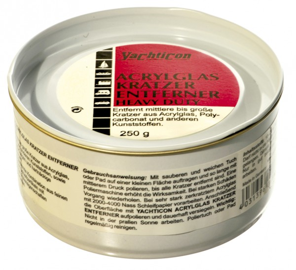Yachticon Acrylglas Kratzer Entferner Heavy
