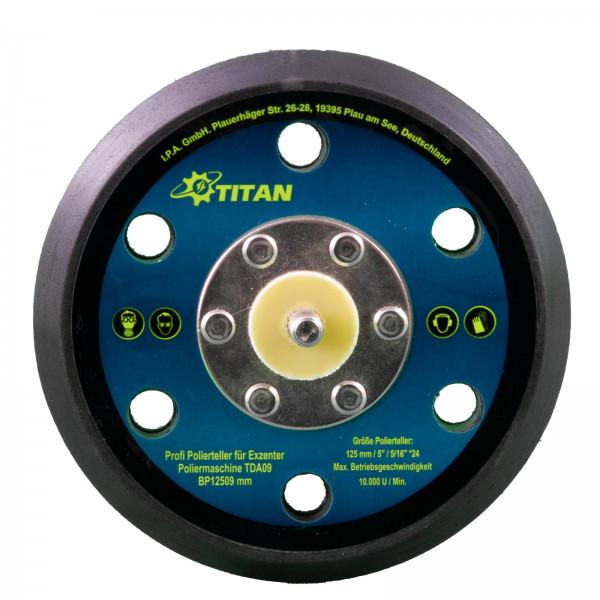 Polierteller Ø150mm für Titan TDA15 | Titan TDA21 | Nordex NDA21