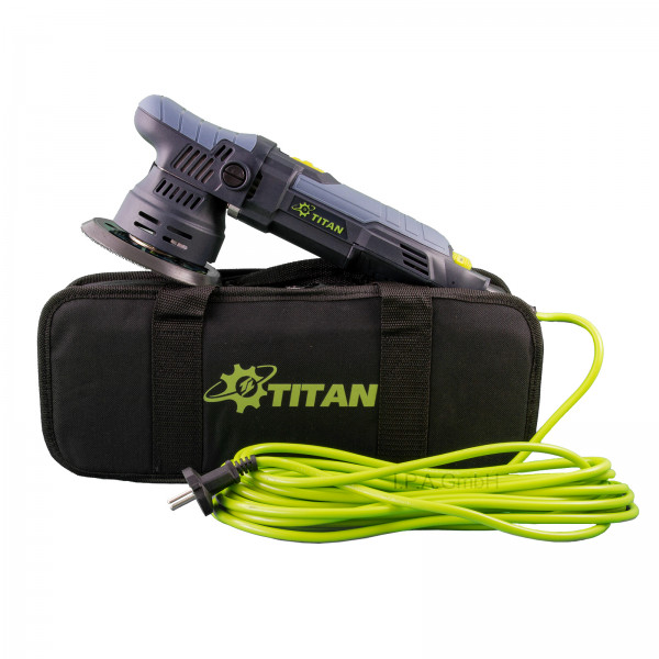 Titan TDA09 v2 | 9mm Hub | Ø125mm Teller | Exzenterpoliermaschine