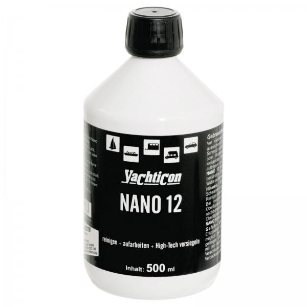 Yachticon Nano 12 reinigt poliert versiegelt 500 ml