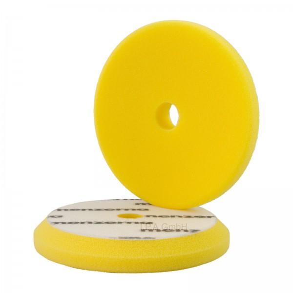 Menzerna Polierschwamm Medium Cut Foam Pad 130/150 mm gelb Step 2