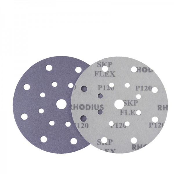 RHODIUS Schleifscheibe Ø150mm, P80 bis P800, Nass-Trockenschliff, Klett, SKP17 V