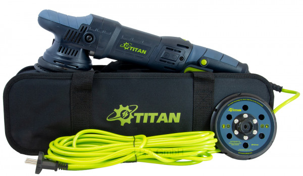 Titan TDA21 v3 | 1050 Watt | 21mm Hub | Ø125mm | Exzenter Poliermaschine
