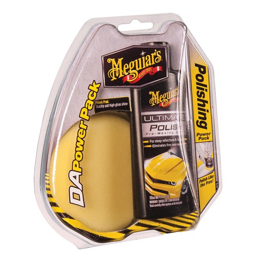 Meguiars D/A Power System Intl Ultimate Polish Pack
