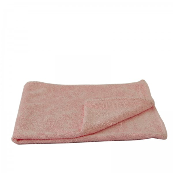 Mikrofaser Stretch Light Poliertuch rosa