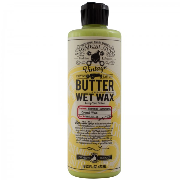 Chemical Guys Vintage Series Butter Wet Wax Flüssigwachs 473ml