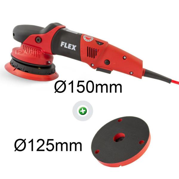 Flex XFE 7-15 150 Exzenterpolierer im Set mit extra Flex Polierteller BP-M D125