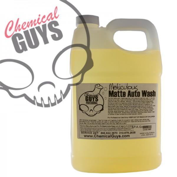 Chemical Guys Meticulous Matte Autoshampoo für matte Lacke Kannister 3,78 L
