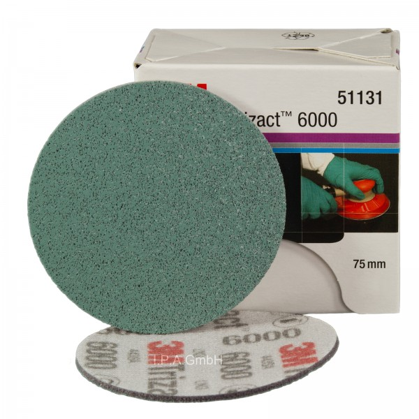 3M Hookit Trizact Feinschleifscheiben P6000 Ø 75mm