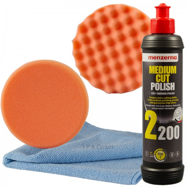 Menzerna Medium Cut 2200 Politur im Set