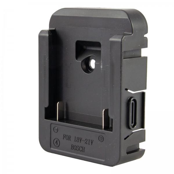 Adapter Akku Bosch für TITAN LED Arbeitsleuchte