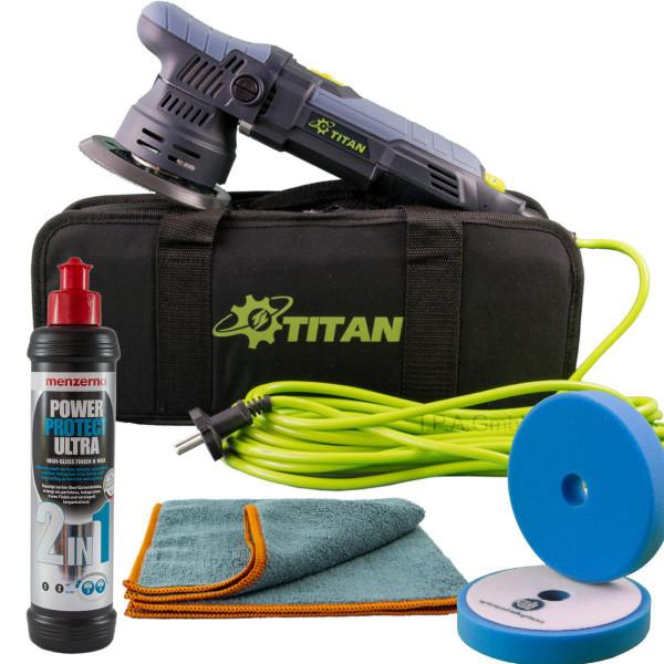 Exzenter Titan TDA09 9mm Hub | 125mm Teller | Anti-Hologramm Einsteiger Kit Menzerna