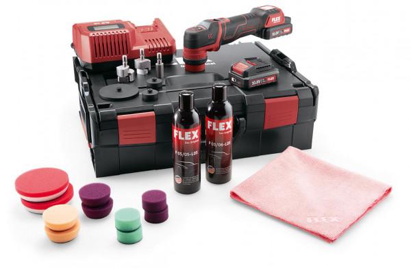 Flex PXE 80 10.8-EC/2.5 P-Set Akku Polierer 469076