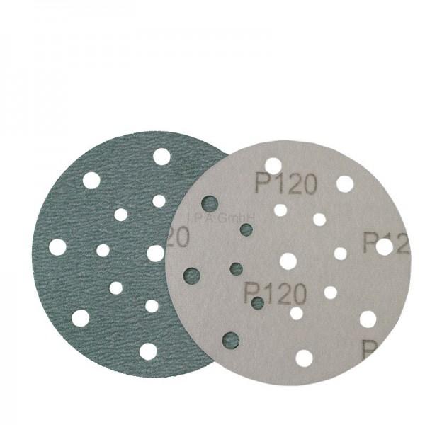 RHODIUS Ø150mm, P80 bis P800, Klett, Universal-Schleifpapier Ceramicon KSKP17 Speed V