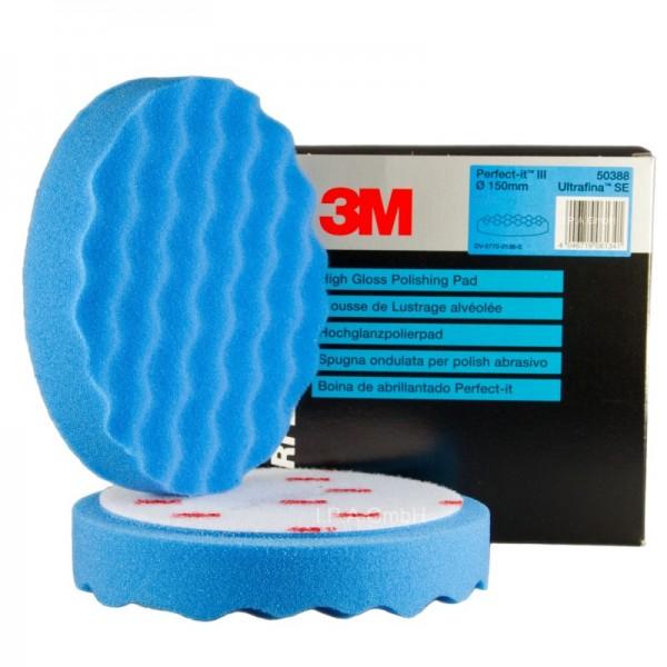 3M Polierschwamm Ultrafina SE Anti Hologramm 150mm 50388 2 Stück