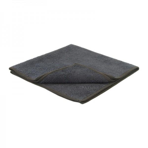 Premium Poliertuch schwarz für Reinigung und Lackpflege