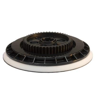 Flex Polierteller Klett-Teller mit Zahnrad für Exzenterpolierer XC 3401 VRG Ø 115mm
