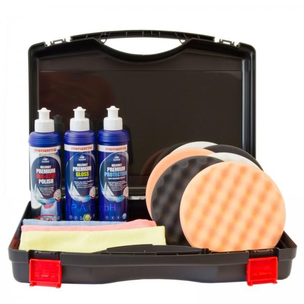 Menzerna Marine Set für Boote mit Politur und Versiegelung im Koffer