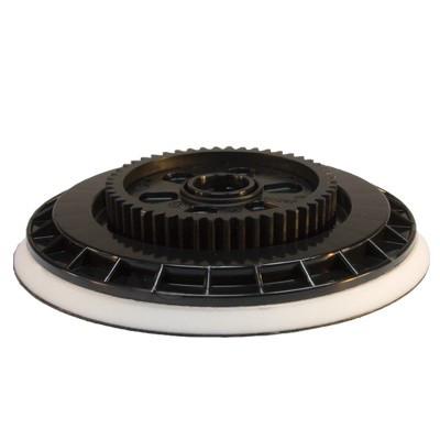 Flex Polierteller Klett-Teller mit Zahnrad für Exzenterpolierer XC 3401 VRG Ø 140mm