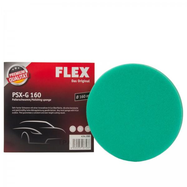 Flex Polierschwamm PSX-G 160 grün sehr hart 434280