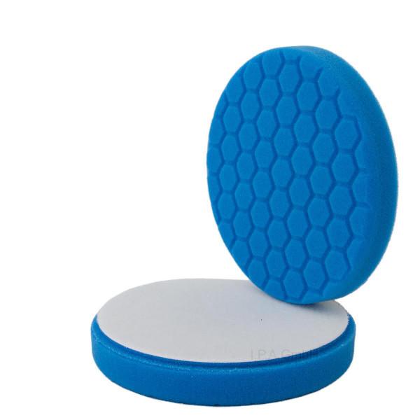 Polierschwamm Hexagon 150/160 blau polieren 2