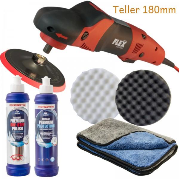 Bootpoliermaschine Quick-Set Flex PE 14-2 & Menzerna Politur & Versiegelung