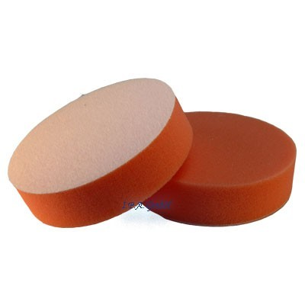 Blaucraft Polierschwamm 125mm orange mittelhart glatt